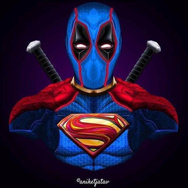 12/365 : Deadpool Series Artwork : 12 - Super-pool The last from the series. Hope y'all loved this series. Will continue it again someday. . Full brightness preferred. Zoom in for details ☀️ ➖➖➖➖➖➖➖➖➖➖➖➖➖➖➖➖➖ #art #artist #avengersinfinitywar #digitalart #sketch #dc #dceu #captainamerica #ironman #infinitywar #deadpool #spiderman #blackpanther #flash #comics #instagram #instalike #instagood #instafollow #instart #artist #followforfollow #like4like #like #follow #xmen #wolverine #punisher...