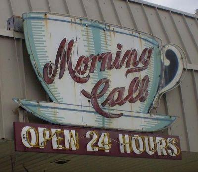 coffee...my morning call
