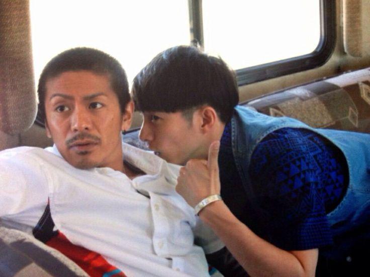 V6 Go Morita and Ken Miyake