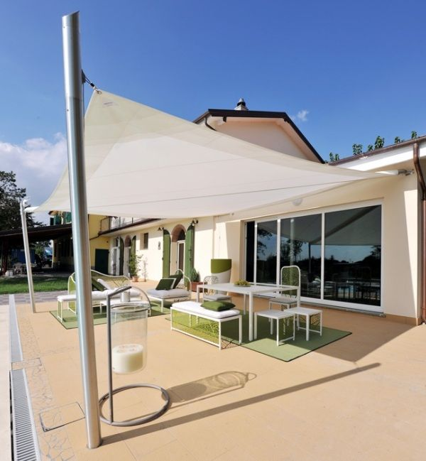 installation accastillage pour voiles ombrage france jardin terrasse - toile a tendre pour terrasse