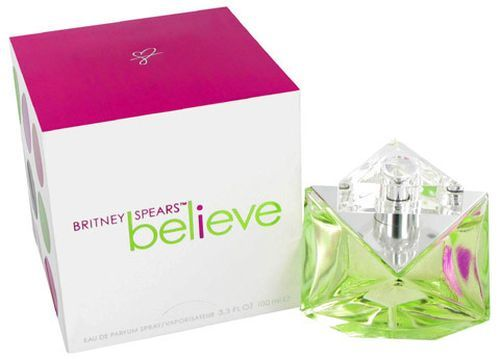 Believe, by Britney Spears - This is a great fragrance, believe it or not!