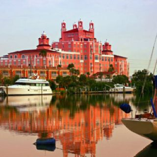 The Beautiful Pink Lady On St Pete Beach Don Cesar Hotel