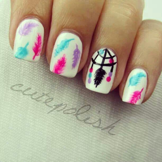 Cool nail art :)