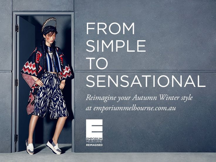 Emporium Melbourne A/W campaign  I was lucky enough to be Stylist Andrew Zumbo's Assistant on this shoot. From creating style boards, sourcing garments and styling looks before shooting the final picks, I had an amazing time!  Model: Rowena Kang at Chadwick Models  Topshop Gorman