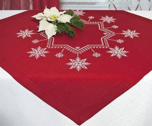 Mkt mesas de navidad manteles