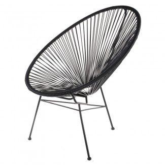 107,10 € Chaise Acapulco noire