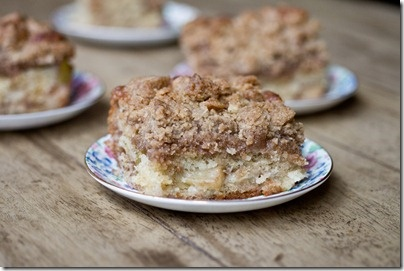 Apple Cinnamon Crumb Cake - Really good! I only did half of the recipe. Great with coffee!