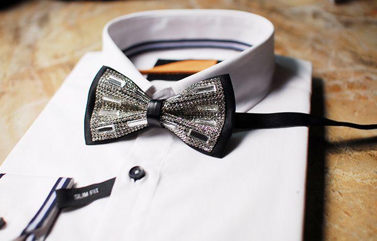 Мерлин Мерлин модную высокого конечного продукта Ши Хуа серия лук свадебные горный хрусталь лук галстук галстук горшок Западной Европы-Таобао
