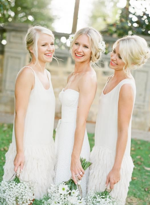 Different color bridesmaid dresses same style taylor