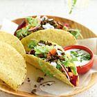 Taco's met gehakt en gemengde sla - recept - okoko recepten