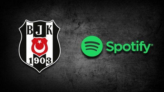100 milyonun üzerinde kullanıcısı olan çevrimiçi müzik dinleme platformu Spotify, Beşiktaş'la iş birliği yaptı.