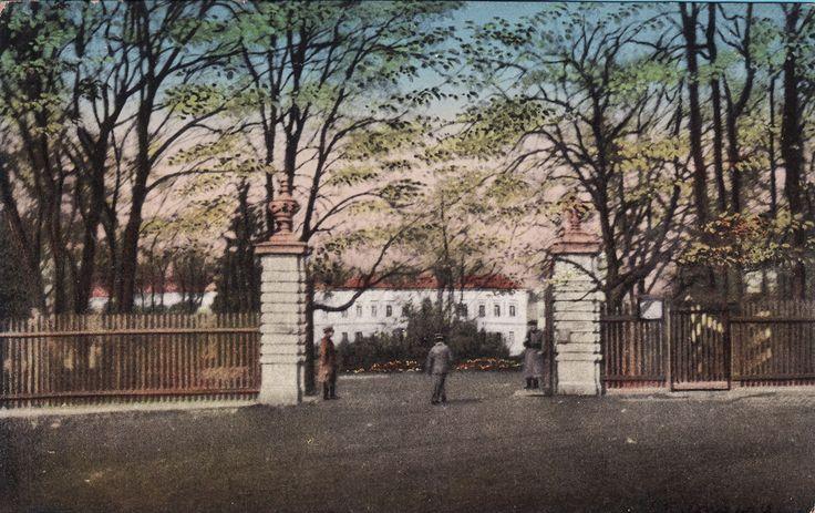 Pałac Prymasowski (Pałac Cesarski), Skierniewice - 1905 rok, stare zdjęcia