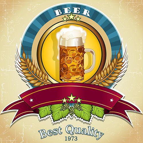 vectores - mundo de la cerveza 2h