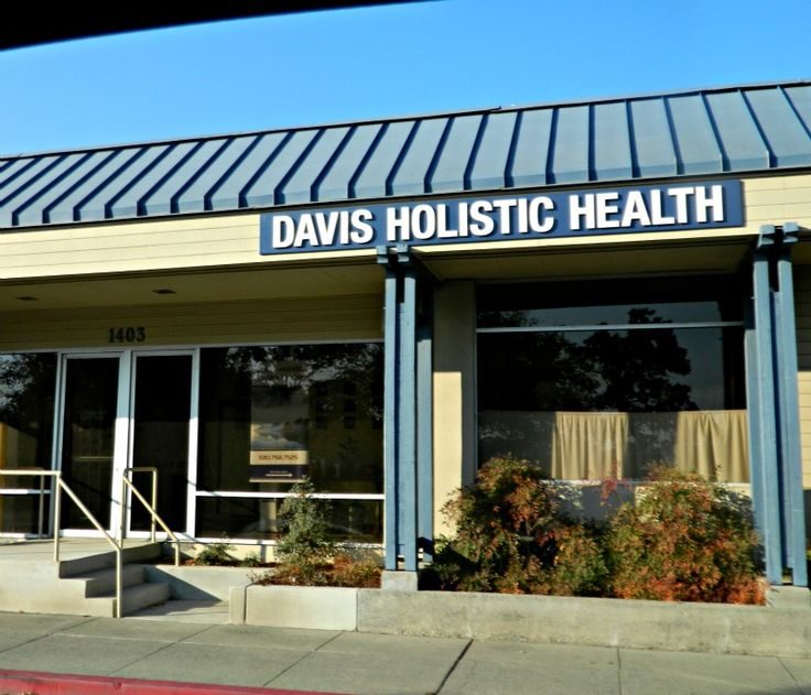 Davis Holistic Health Center - 1403 5th Street Suite B, Davis, CA 95616 - Phone: 530.758.7525; Fax:530 758-2129 ~ We provide the Davis/Sacramento and surrounding areas with acupuncture, herbal medicine, massage, and other holistic health services. In addition, the Center offers wonderful yoga, qigong, and other classes.