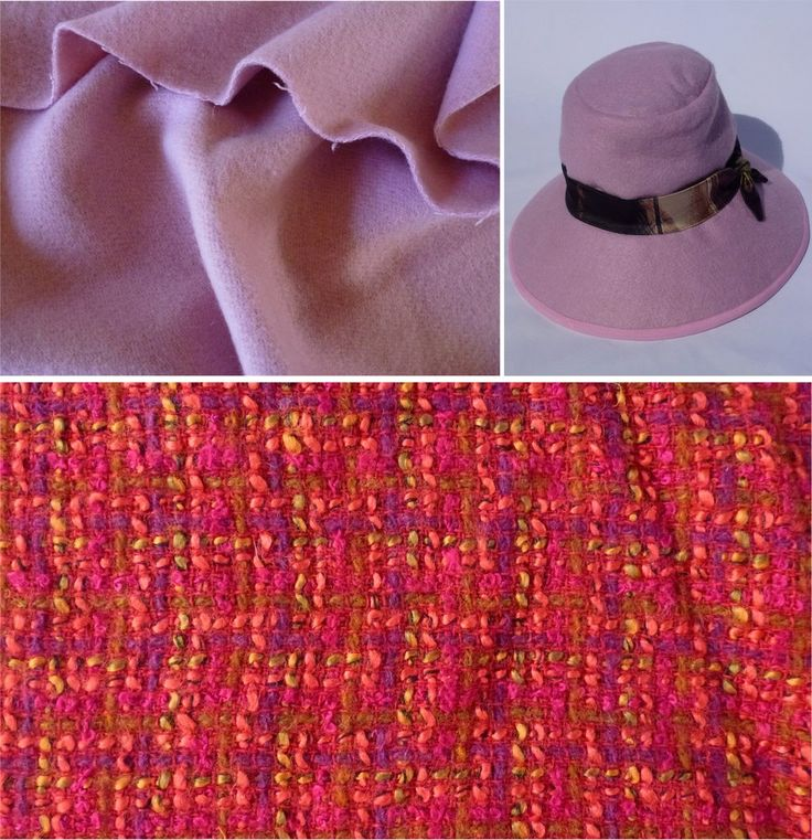 Woolen Winter fabric for handmade hat. Great sewing patterns for your own hat from FishPetals Do Fly