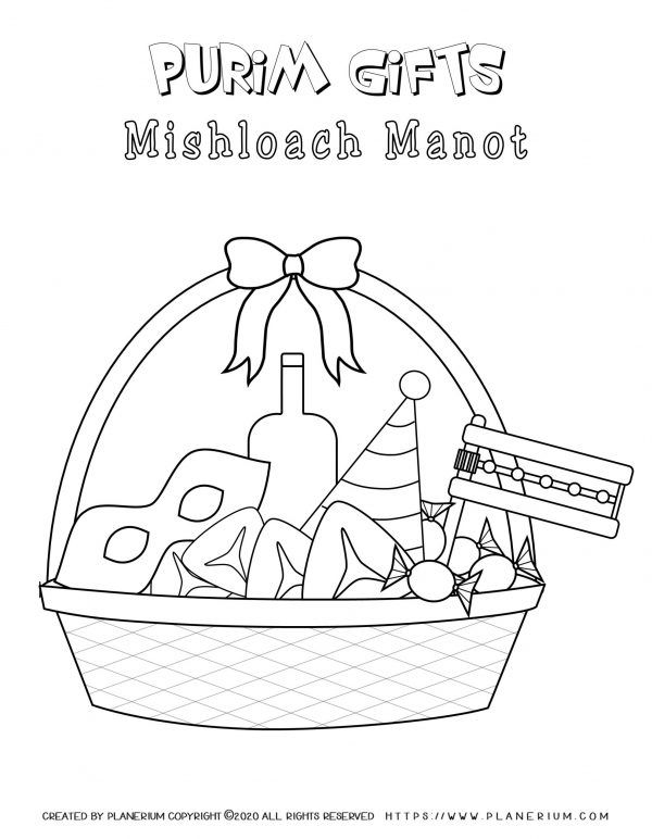 Purim Coloring Pages And Worksheets Free Coloring Pages