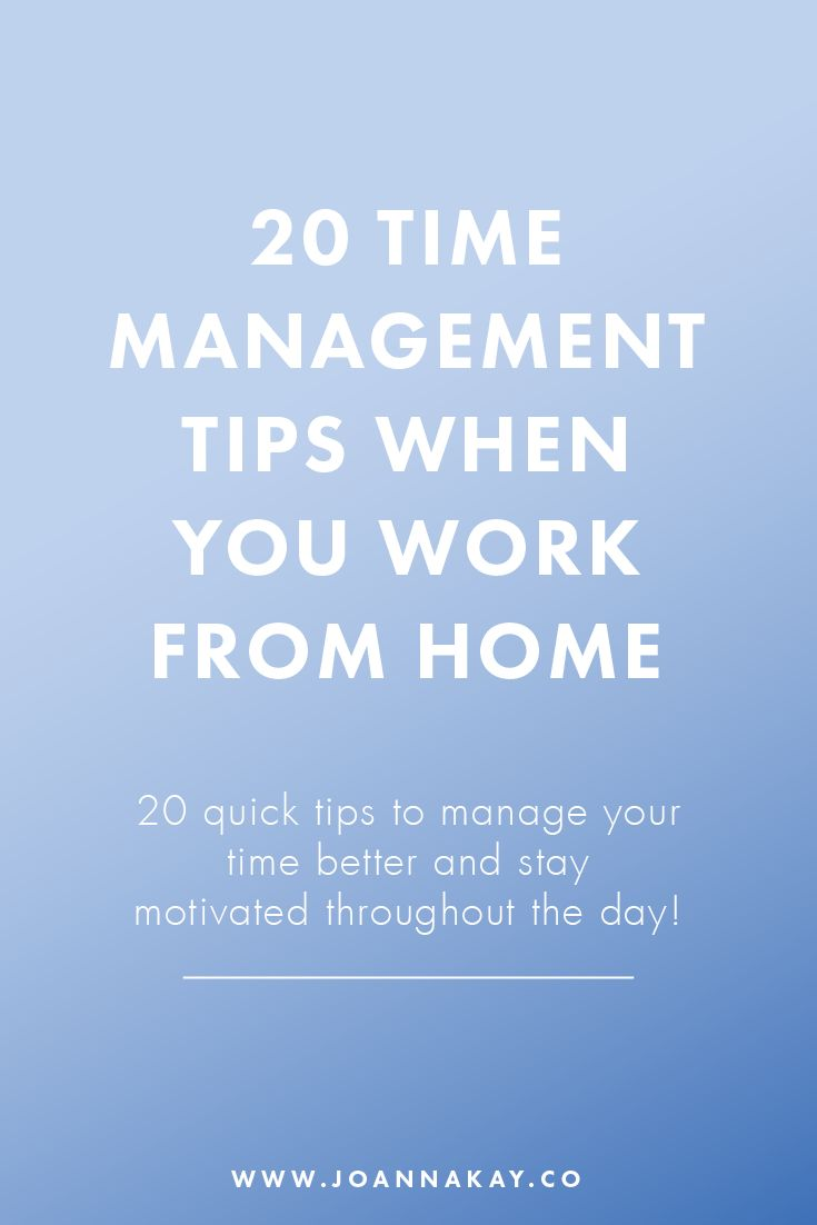 I don't know about you, but I can get very easily distracted. When you work from home it can be particularly hard to stay focused and not spend all day scrolling through your social media feeds! It's all down to you to keep yourself motivated! Luckily, I have your back! Here's 20 quick tips