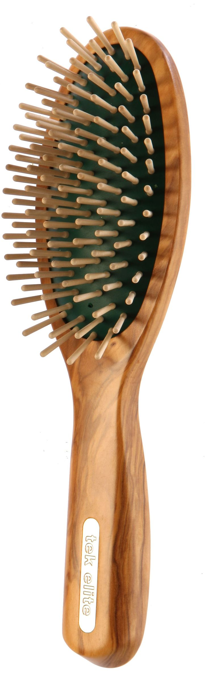 tek | Hair brush made in Italy using Forest Stewardship Council certificated wooden handle and pins.| Nerida x