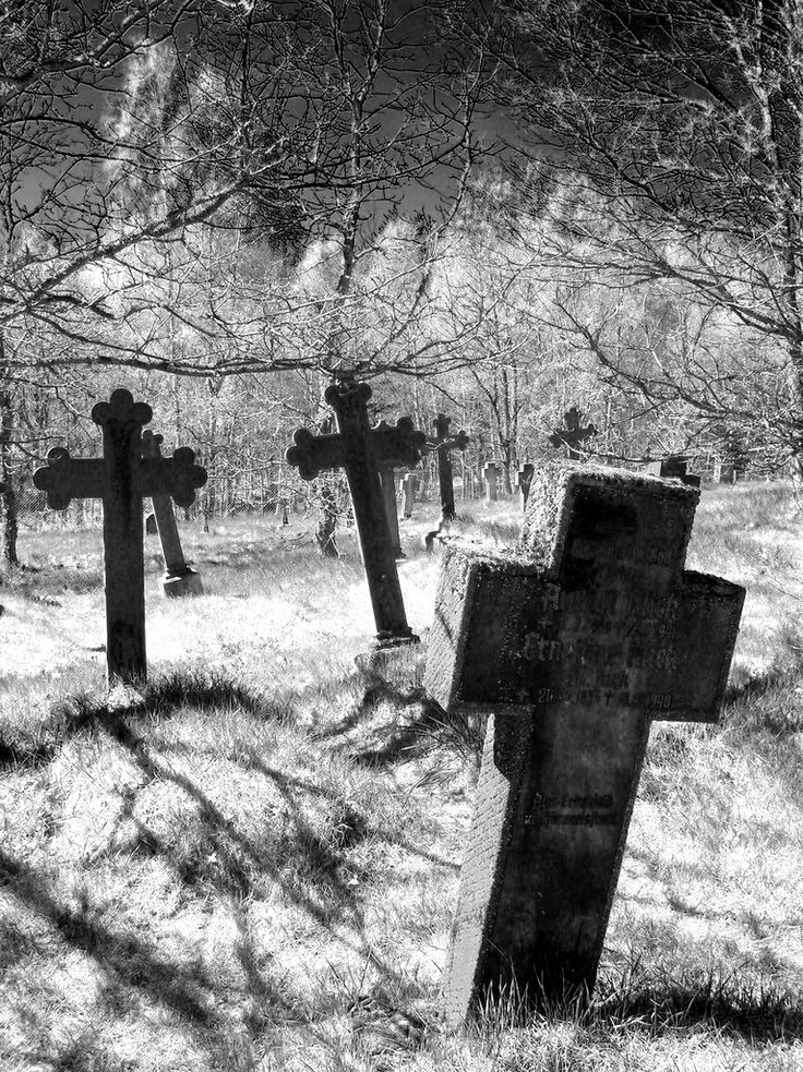 Old cemetery...great impact.