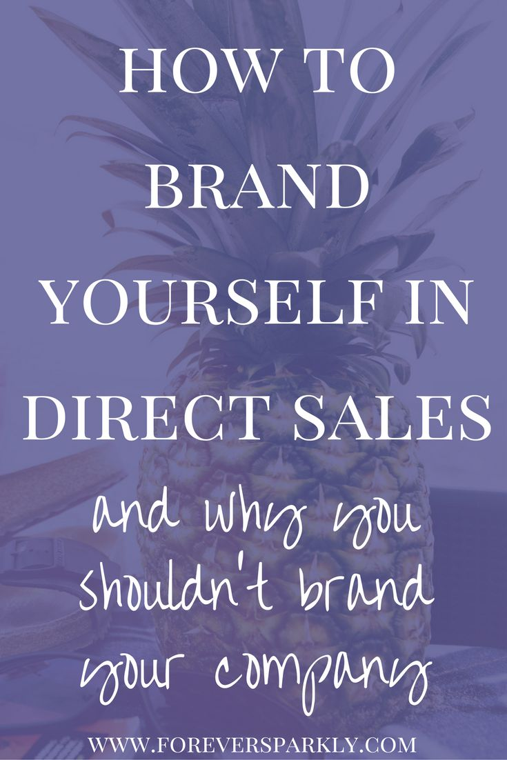 Wondering how to brand yourself in direct sales? Not sure where to start? Click to read my quick guide on how to brand yourself and not your company! via @owlandforever