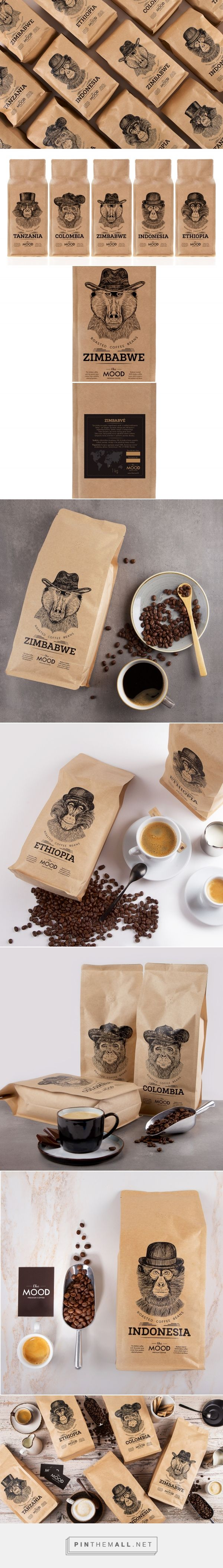 "In ""The Mood"" for Coffee packaging design by Salvita Design - http://www.packagingoftheworld.com/2018/01/in-mood-for-coffee.html"