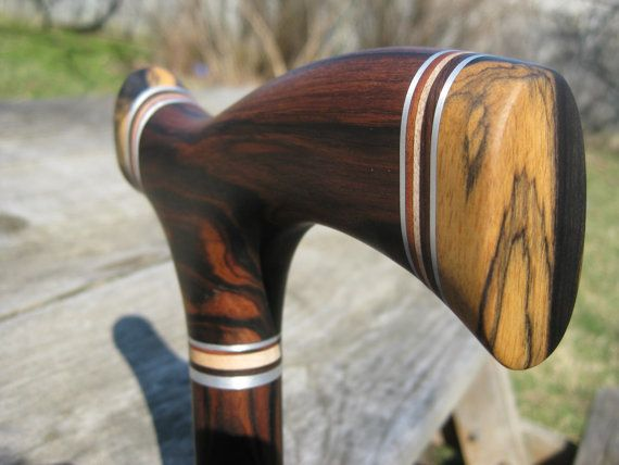 Exotic wood canes