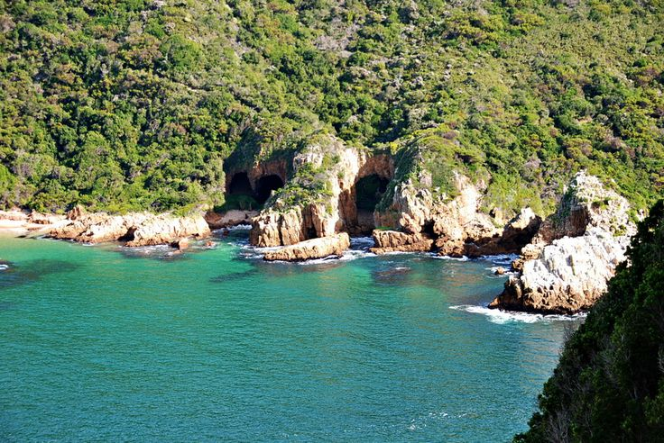 Looking west from the top of the Heads at Knysna, South Africa.
