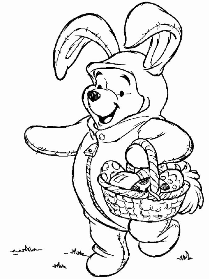 Disney Spring Coloring Pages For Kids Disney Coloring Pages Easter Coloring Book Bunny Coloring Pages
