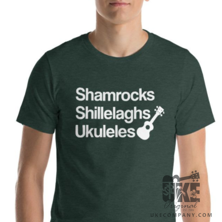 Have a Ukulele St. Patrick's Day! Get your green on before it's too late. FREE SHIPPING!  #ukulele #stpatricksday