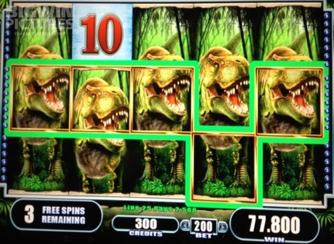 BigWinPictures.com: 15.560€ BIG WIN on WMS Gaming slot Big Rex with 40€ bet!