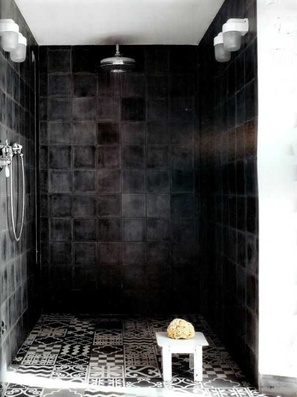 Emejing Zwarte Tegels Badkamer Ideas - Ideeën Voor Thuis ...