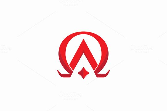 Alpha and Omega Logo by drawzen on Creative Market                              …