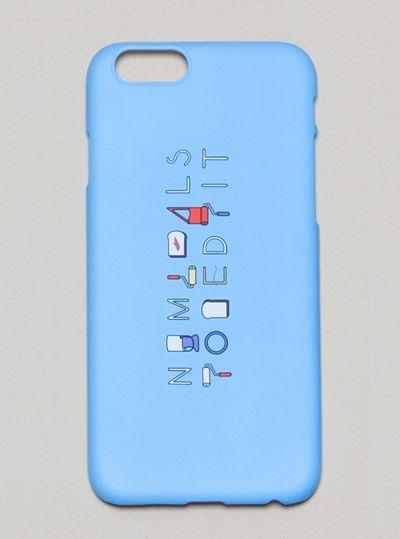 [NOMEDALIST X SHINMORAE] IPHONE6 CASE_BLUE