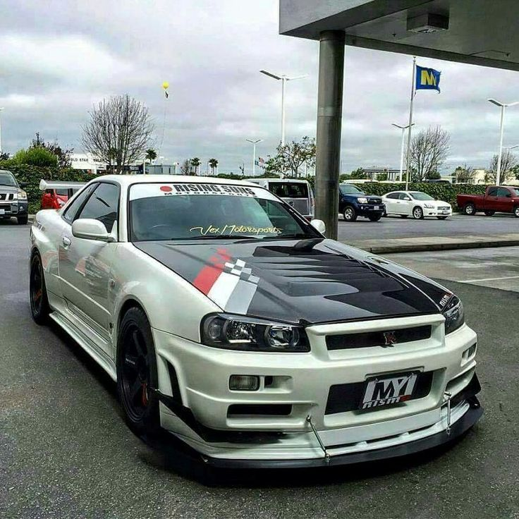 Skyline Gtr R34, Nissan Skyline Gt, Stance Nation, Modified Cars, Jdm,  Convertible, Pimped Out Cars, Custom Cars, Japanese Domestic Market