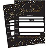 kartu undangan pernikahan emas