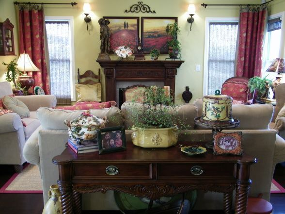651 best homes french country images on pinterest - Country living room color schemes ...