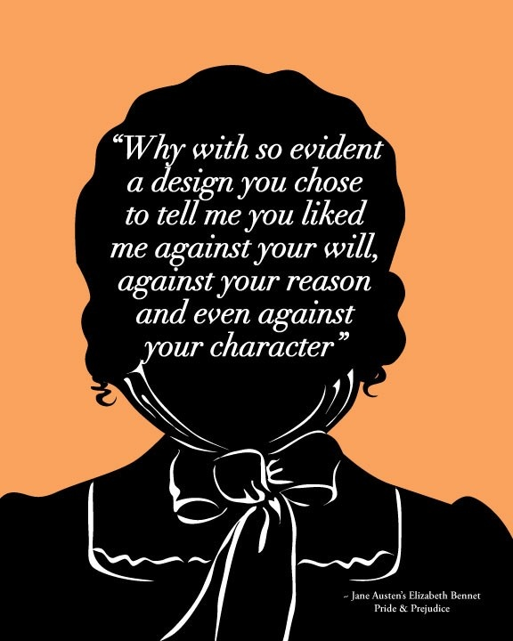 an analysis of elizabeth bennet in pride and prejudice by jane austen Elizabeth bennet is the protagonist in the 1813 novel pride and prejudice by jane austen she is often referred to as eliza or lizzy by her friends and family elizabeth is the second child in a family of five daughters.