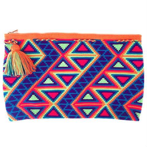 Cauca Clutch - Wayuu Bags | Chila Bags