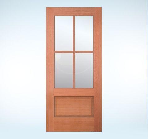 Exterior doors authentic wood glass panel doors - Exterior glass panel french doors ...