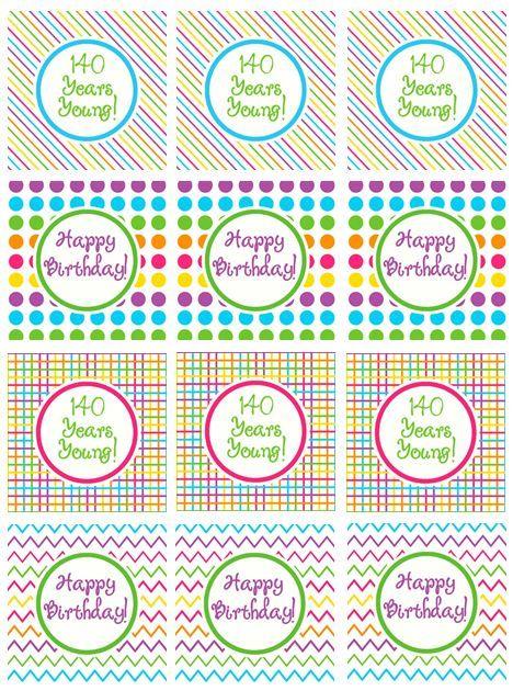 Happy Birthday Printables