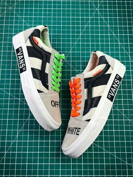 d3f7cfa37ffc VANS OFF THE WALL OLD SKOOL VIRGIL OFF WHITE ABLOH VN0D3HY28  moonstone   cinema  youngjustice  dickgrayson  ro…
