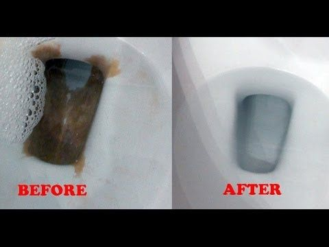 Toilet Lazy Flush And Mineral Buildup Repair Lime Or