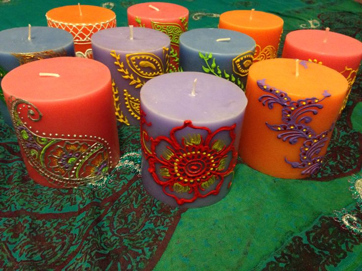 Mehndi Henna Candles : Henna candle stack by draughtsman to on deviantart