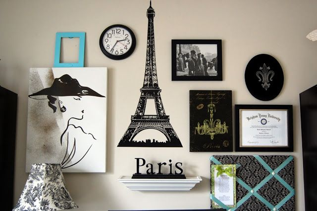 Family Ever After....: Paris Gallery Wall