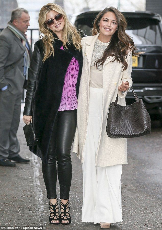 Double trouble: Holly Candy and her half-sister Olympia Valance made a joint appearance on...