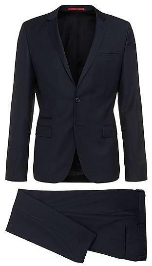 HUGO Slim-Fit Anzug aus Schurwolle: 'Arti1/Heilon'