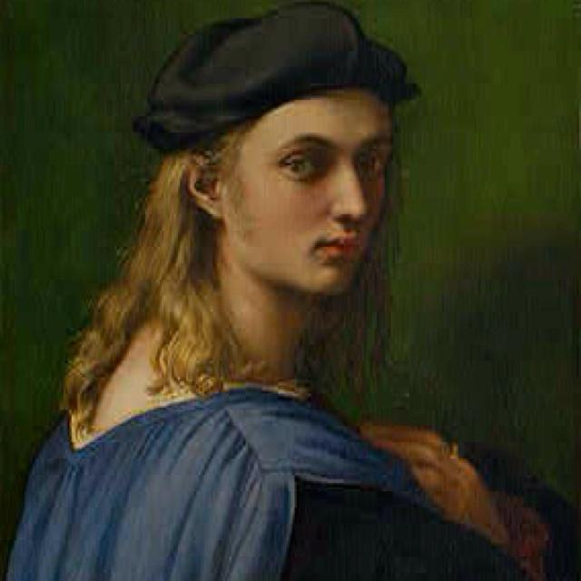 Bindo Altoviti - I'm sure he was an elfRenaissance, Raphael Sanzio, Raffaello Sanzio, Bindo Altov, Art, Portraits, Painting, National Gallery, Oil