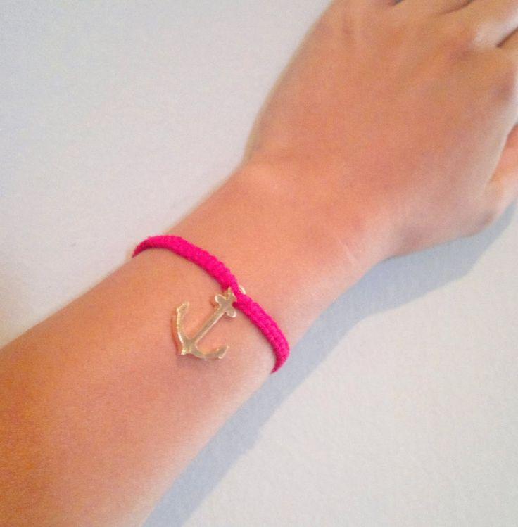anchor-pink macrame