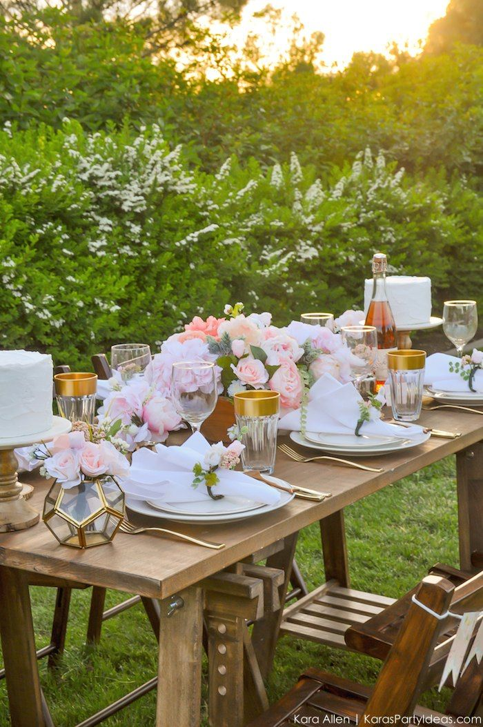 Garden Party Ideas Pinterest rustic english country garden flowers in jars for the wedding breakfast backed by fairy lights Garden Party Tablescape Free Printables