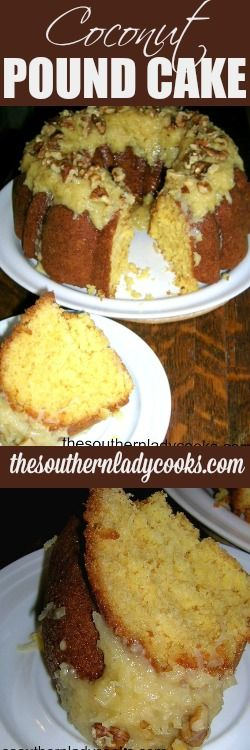 If you like cake and desserts, this coconut pound cake is like a dream come true! This is a wonderful cake to serve anytime and I promise it won't last long. 1 box Pillsbury Moist …